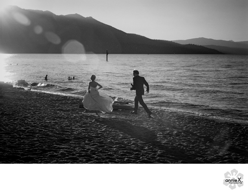 Action wedding photographer in South Lake tahoe