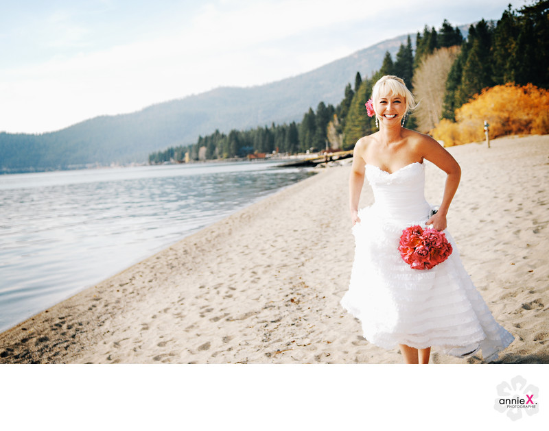 Fall Wedding Photographer in Incline Village nevada