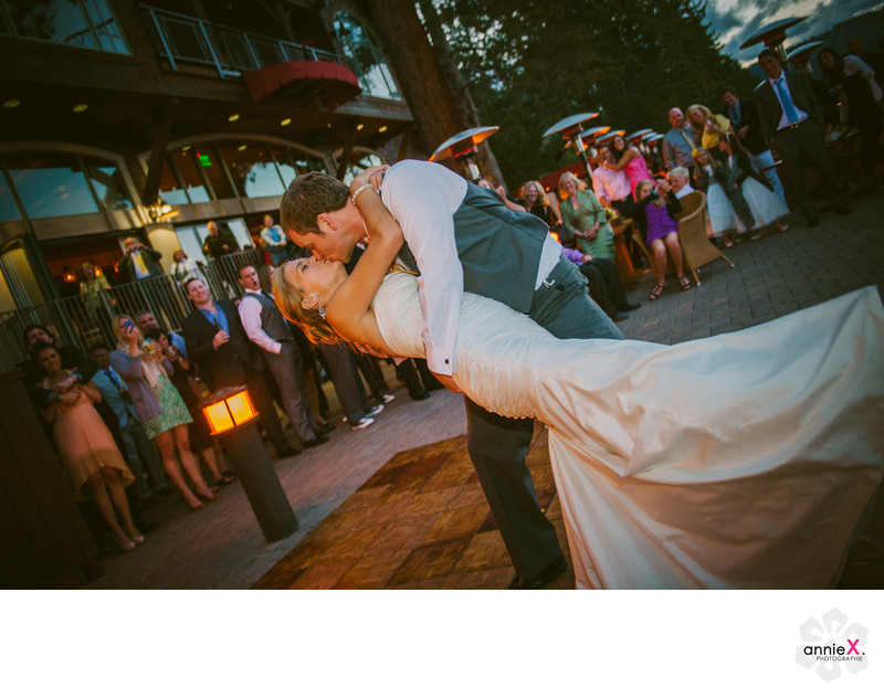 First Dance at West Shore cafe, Lake Tahoe
