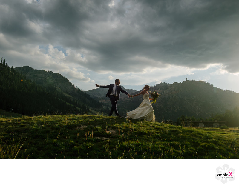 mountain wedding photographer at Squaw Valley