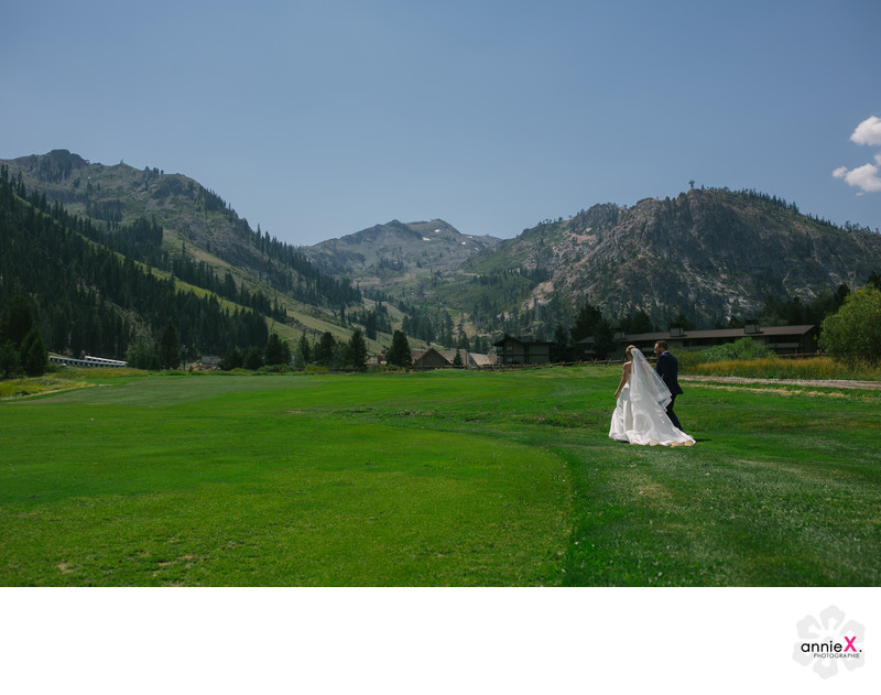 Resort at Squaw creek wedding photographer