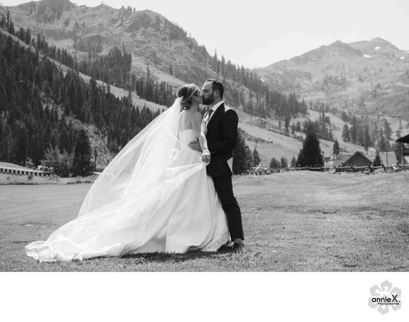 Fabulous wedding photography in Squaw Valley