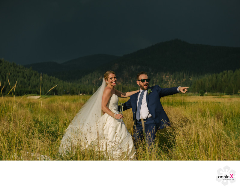 Documentary wedding photographer at Squaw Valley