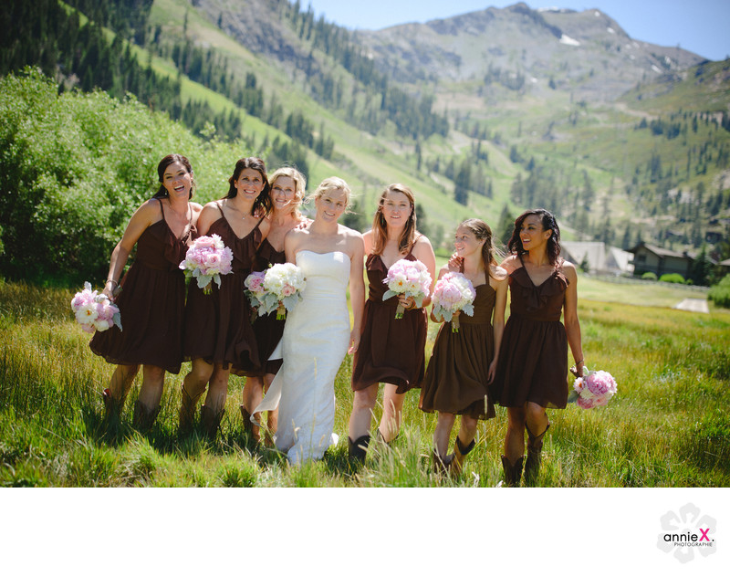 Bridesmaids in the Valley