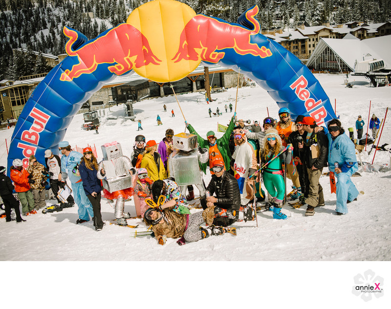 Event photographer Redbull