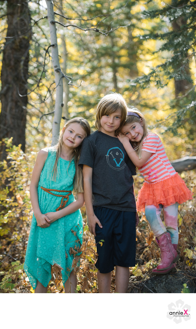 Fun Fall Session Children Photographers
