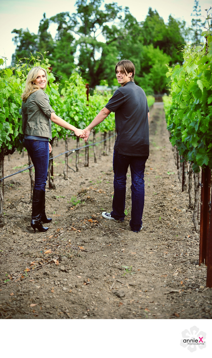 Yountville engagement photographer
