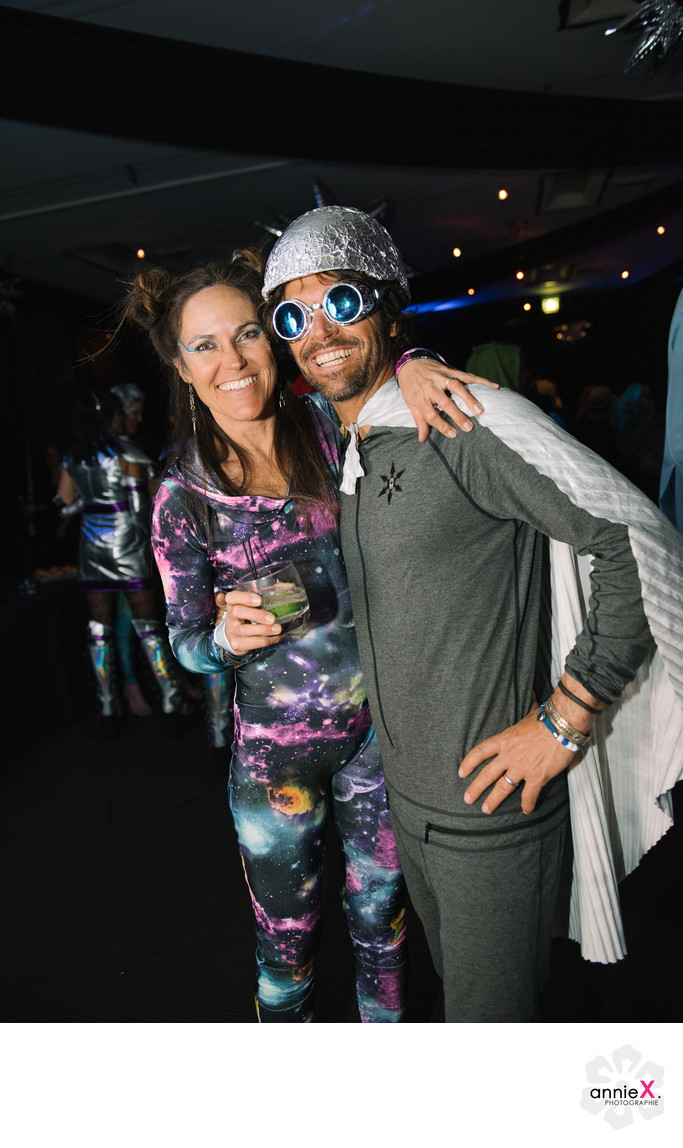 Space Oddity theme fundraiser in Squaw Valley