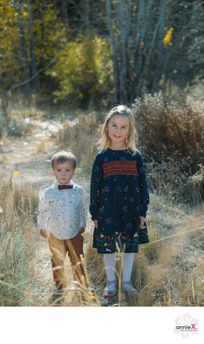Mini Boden style children photographer in Tahoe