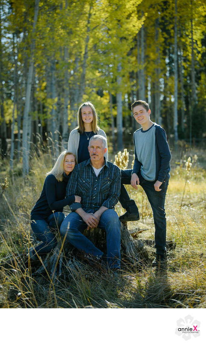 Tennager family photographer in Tahoe city