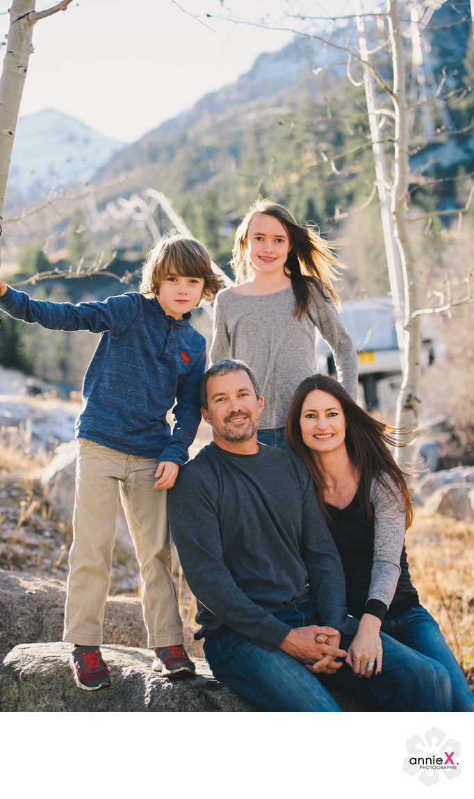 Mountain family photographer