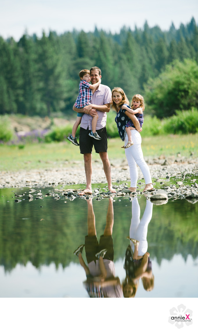 natural family photographer in Tahoe