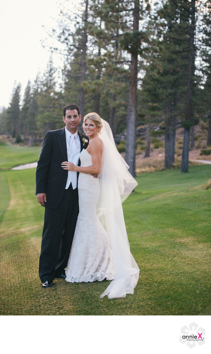 Professional wedding photographers at Martis Camp