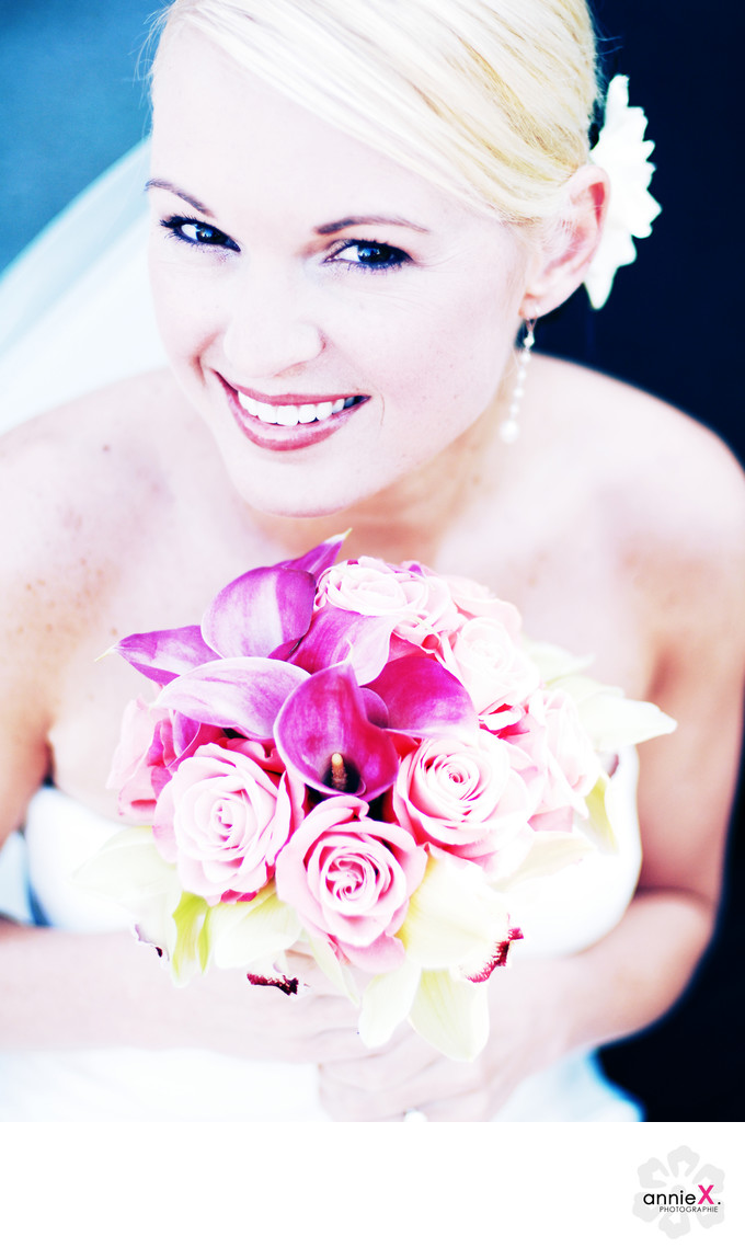Bride at Lahontan Lodge in truckee, california