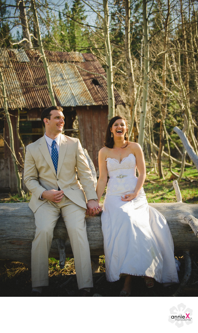 Fun Elopement Photographer in Truckee