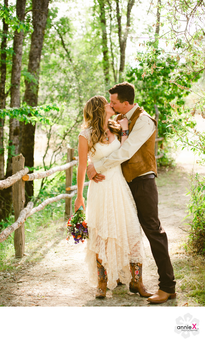 Wedding Photographer at Squirrel creek ranch