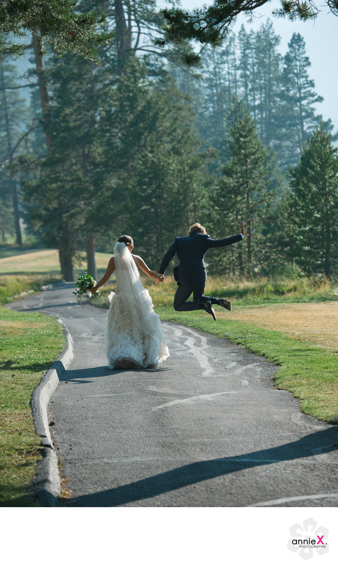 Most fun Wedding photographer in Squaw Valley