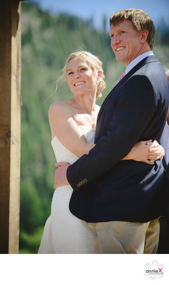 Most fun Wedding photographer at the Stables in Squaw