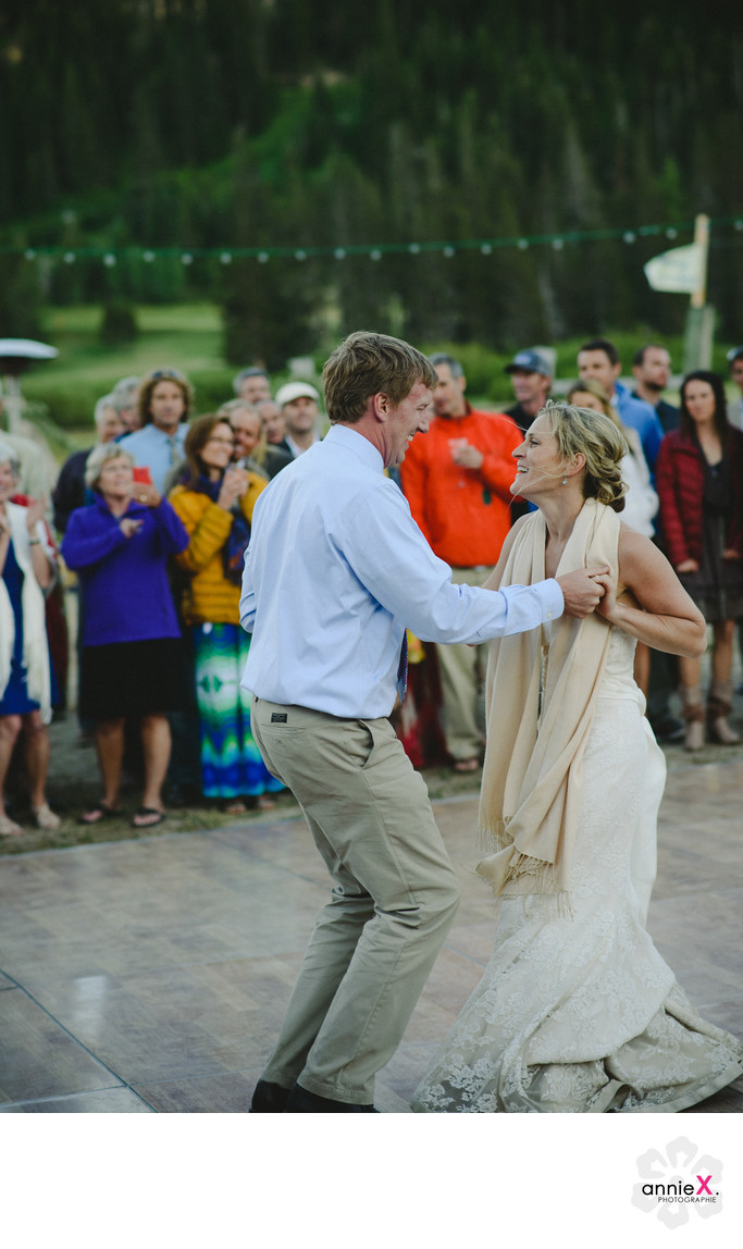 First dances by bride and groom