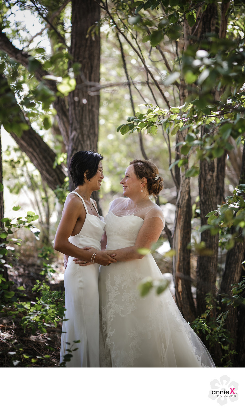 Same Sex mountain wedding photographer
