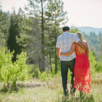 mountain engagement photographer