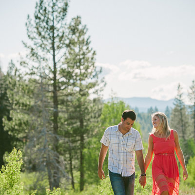 best Lake Tahoe engagement photographer