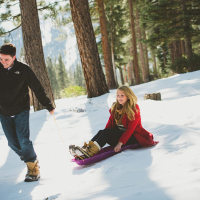 Best Lake Tahoe elopement and engagement photographer