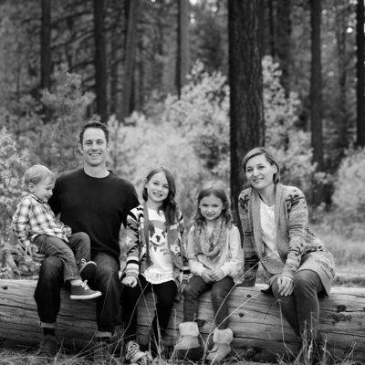 Truckee family portraits
