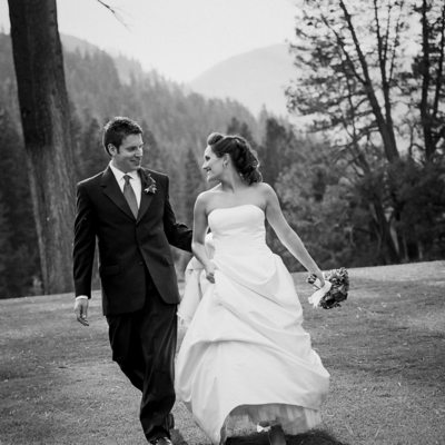Resort Squaw Creek wedding photographer for fun couples