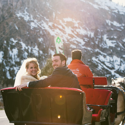 Squaw Valley sleigh ride
