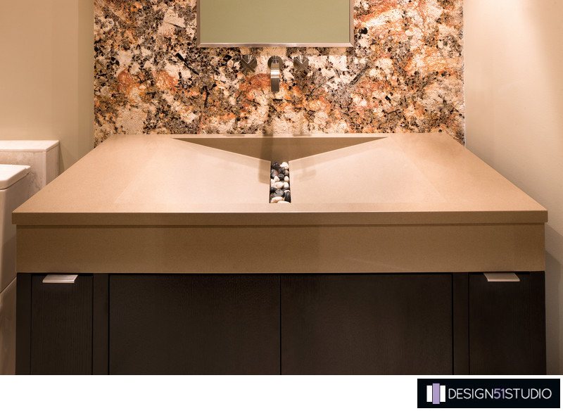 MODERN RIVERSIDE CONDO GUEST BATH - FINISH DETAILS - HOLLY WIEGMANN - DESIGN 51 STUDIO