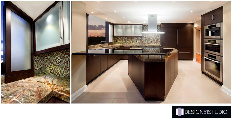 MODERN RIVERSIDE KITCHEN - COLLAGE - HOLLY WIEGMANN - DESIGN 51 STUDIO