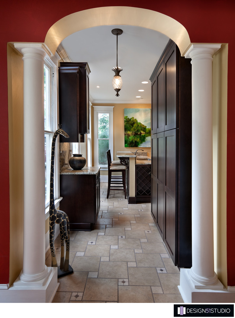 HISTORIC RIVERSIDE BUNGALOW KITCHEN - ENTRY - HOLLY WIEGMANN - DESIGN 51 STUDIO