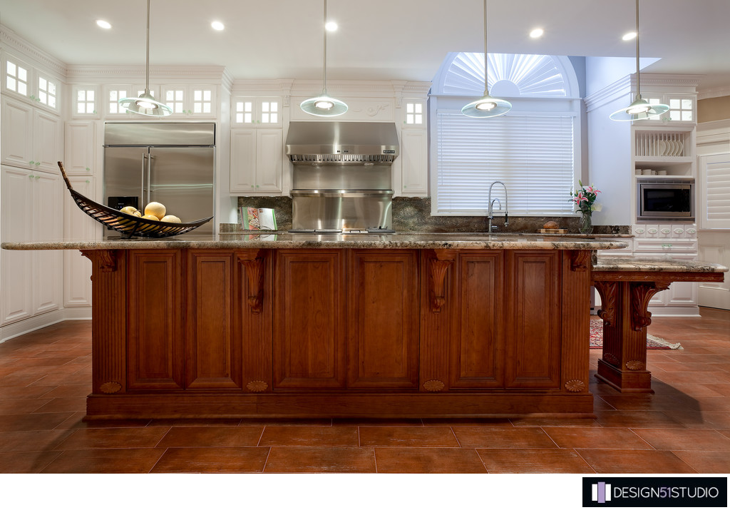 TRADITIONAL EPPING FOREST KITCHEN - ISLAND FRONT - HOLLY WIEGMANN - DESIGN 51 STUDIO
