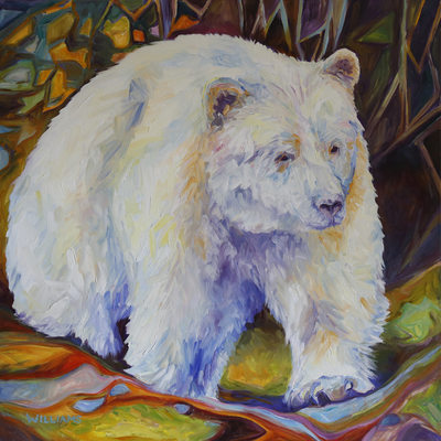 Jewel-Like Beauty, White Spirit Bear