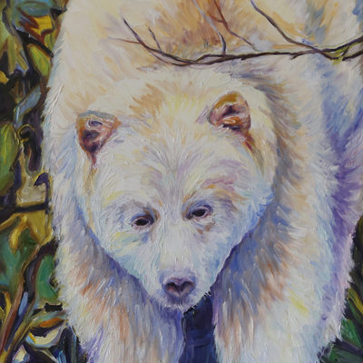 White Spirit Bear, Ancient Wisdom