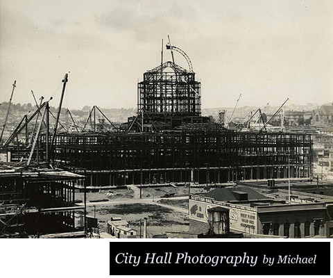 Photo of the Construction of new San Francisco City Hall Building
