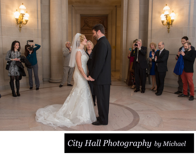 Wedding Ceremony Love at SF City Hall
