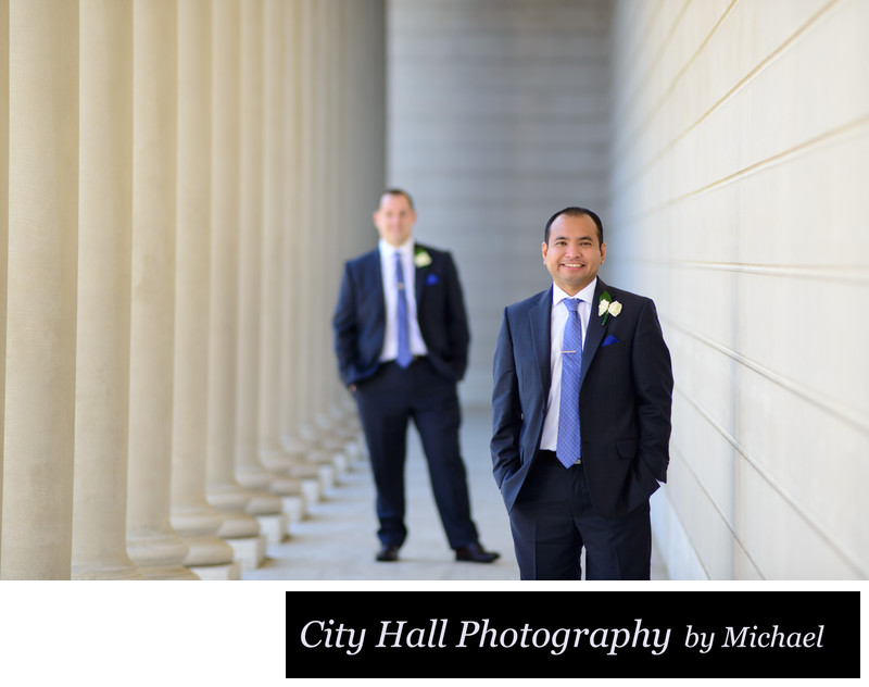 Legion of Honor Same-Sex Wedding Photographer