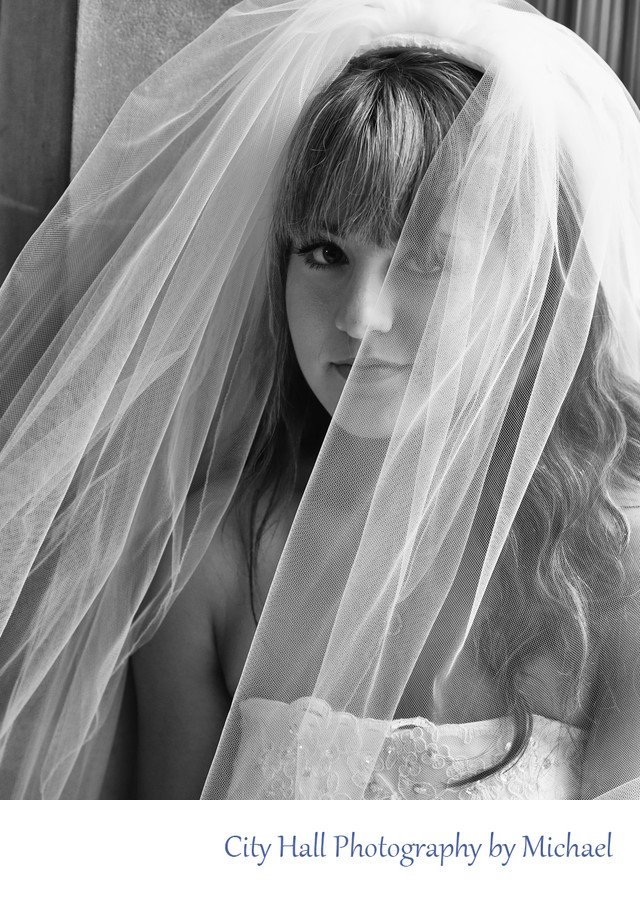 Bride Framed - Wedding Photography San Francisco City Hall