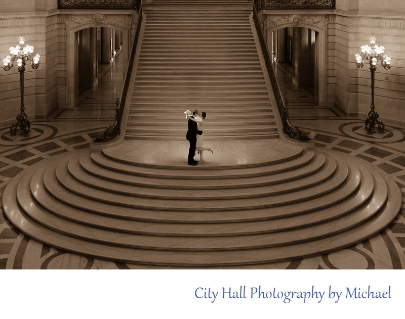 Wedding Photographer City Hall  - Same Sex Image