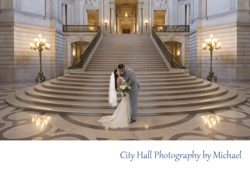 Wedding Photography at San Francisco City Hall