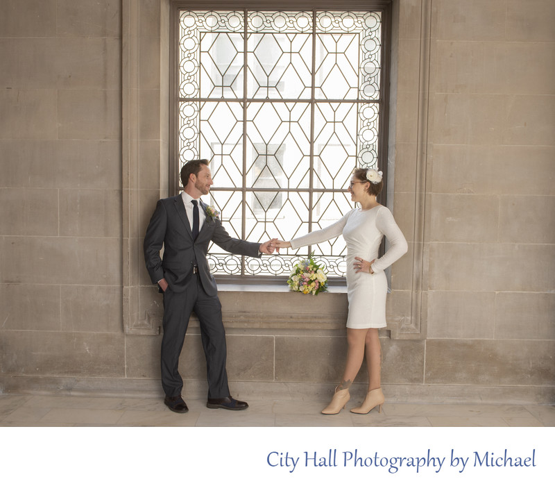 Best wedding photography locations include north facing windows with natural light.