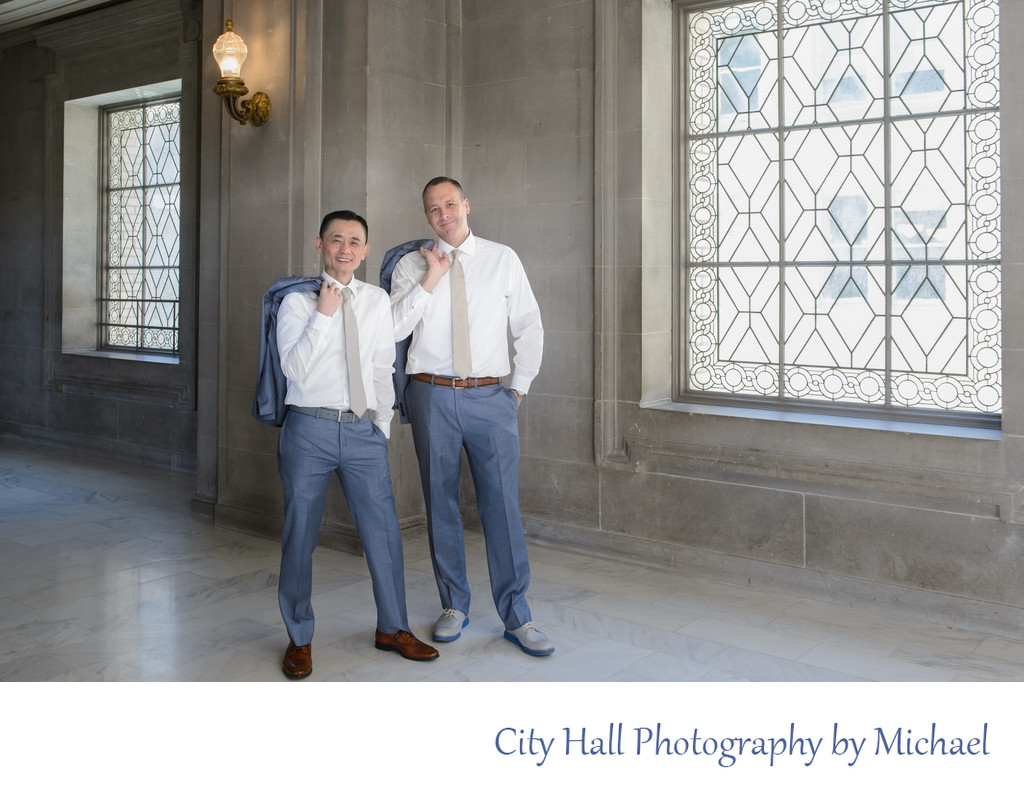 San Francisco City Hall Wedding Photographer - Gay Marriage