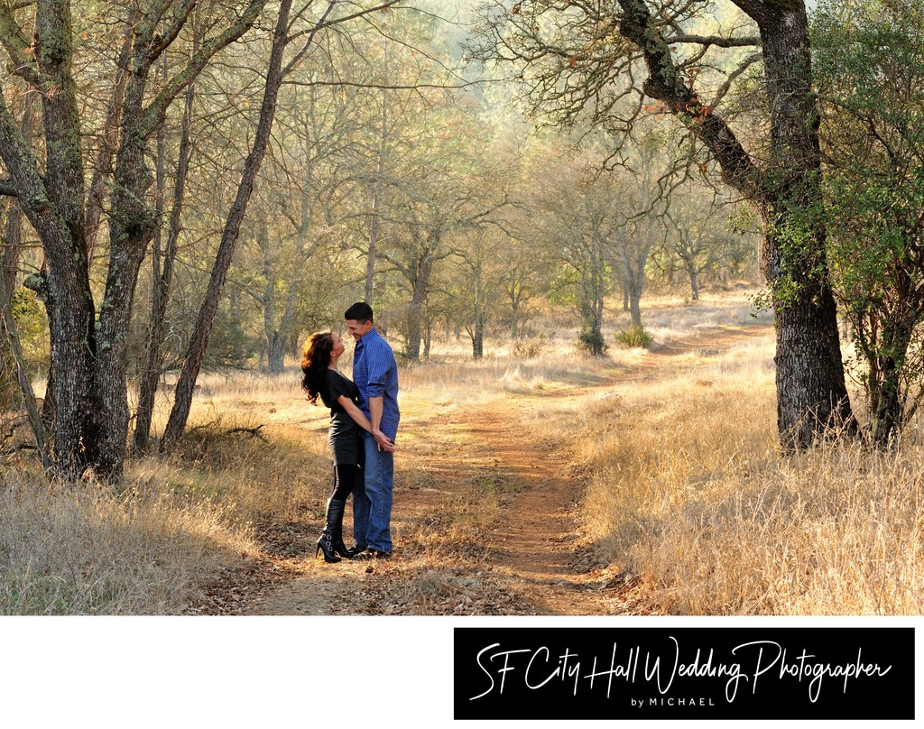 Best Engagement Portrait Outdoors in the San Francisco Bay Area