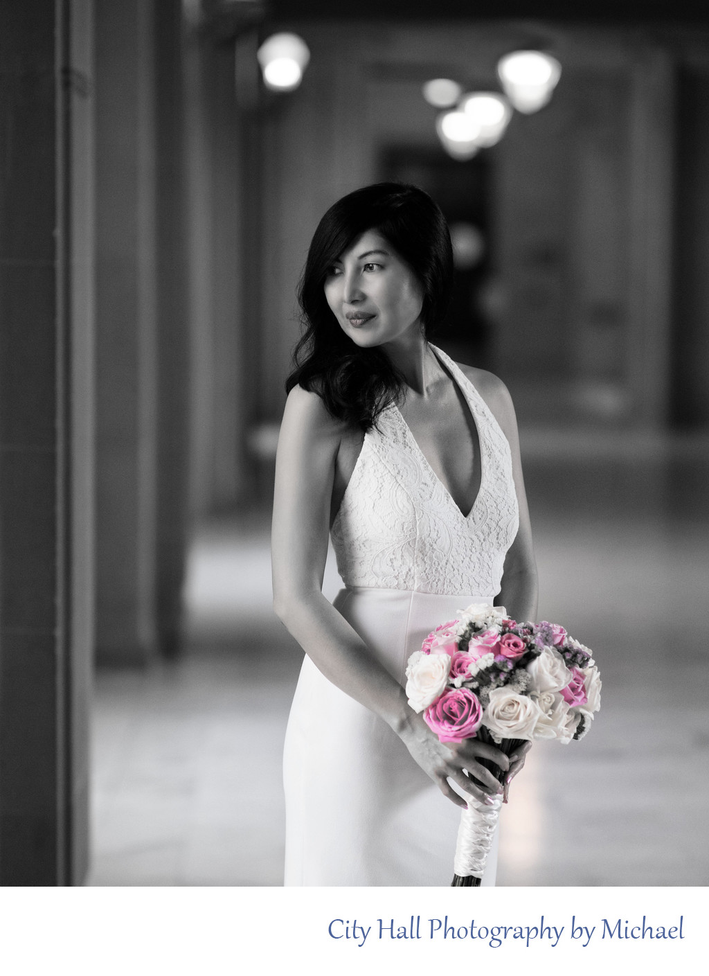Wedding Photographer San Francisco City Hall - Asian Bride