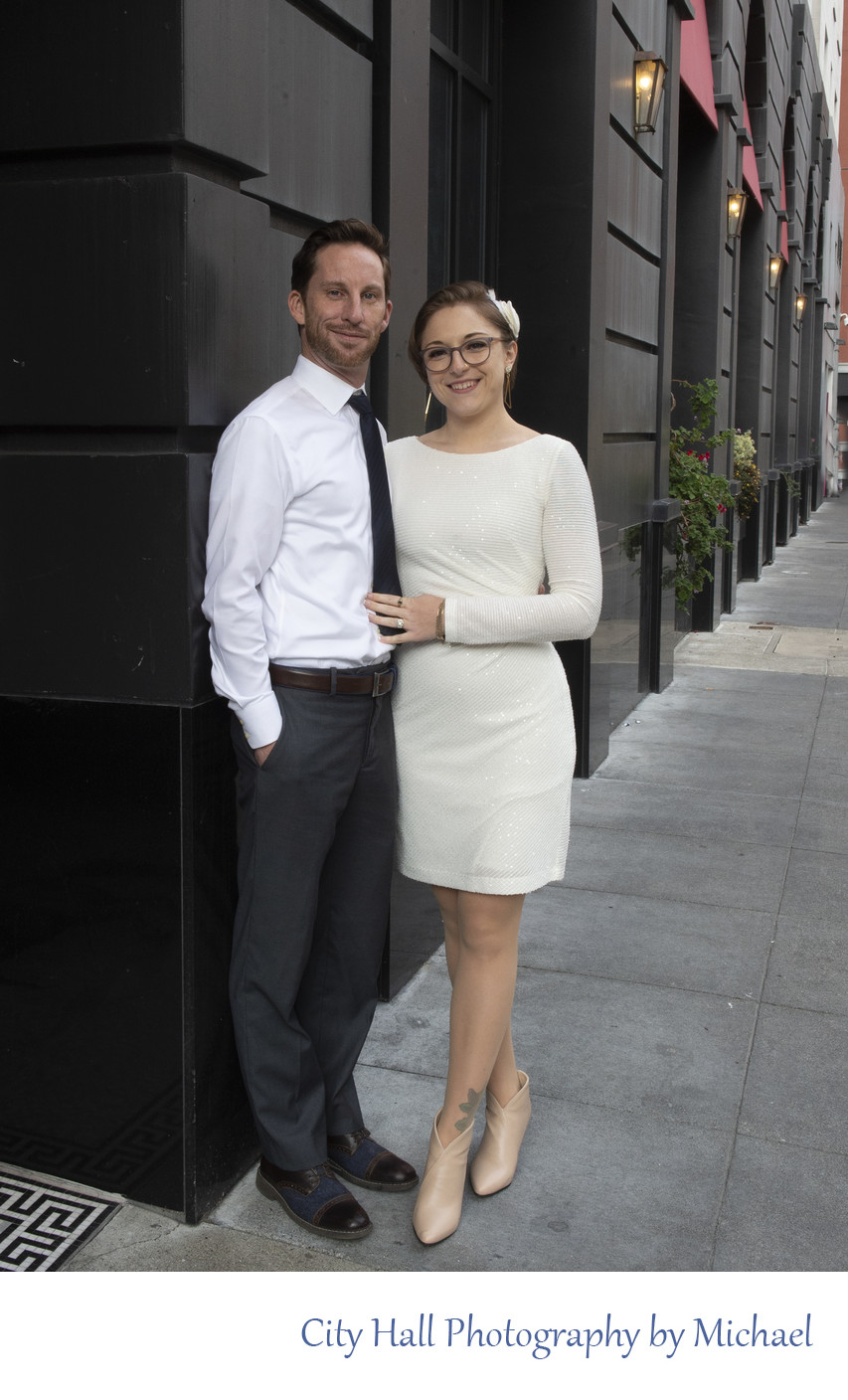 Wedding Reception in San Francisco - Outside Image