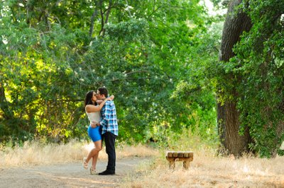 Portrait Photography in the Woods - San Francisco Bay Area