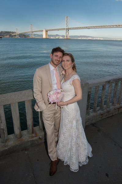 Bay Bridge Wedding Professional Photography