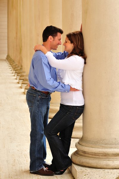 San Francisco Legion of Honor Engagement Session